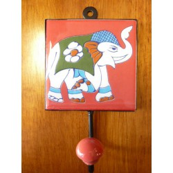 10x10x17 cm hook right Red Elephant