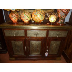 sideboard hight rosewood and brass