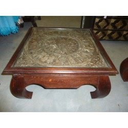 coffee table TRIBAL 75x75x40 cm