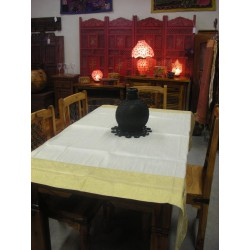 Taffeta brocade tablecloths 150x150 cm