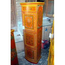 column highte doors cambered orange losange