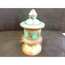 prayer wheels total turquoise 2