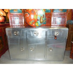 Large Buffet 3 doors and 3 drawers 140 cm