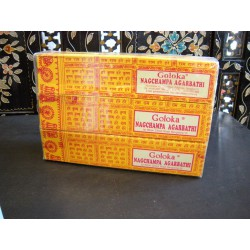 Yellow GOLOKA Incense (Box of 12) ** 2 free boxes **