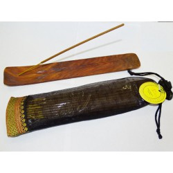 Kit incense and incense holder PATCHOULI NOIR
