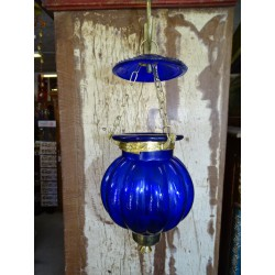 small lamp KHARBUJA blue