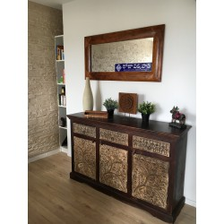 sideboard 3 drawers TRIBAL 147x40x90 cm