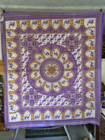 Hanging mosaic Camel Purple and green