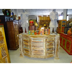 BAHAMAS recycled teak bar counter