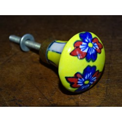Button ball yellow daisy and overseas