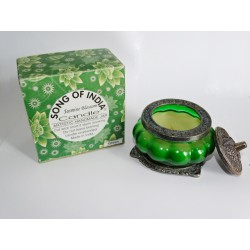 Scented glass candle JASMIN