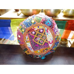 Pouf Indian round diameter 36 cm