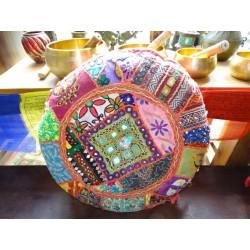 Pouf Indian round diameter 50 cm
