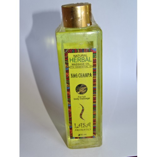 NAG CHAMPA perfume massage oil (200 ml)