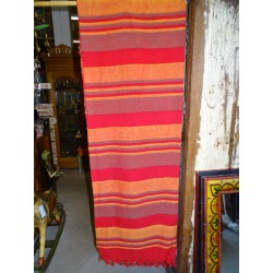 Indian pastel in two pastel red and orange colors
