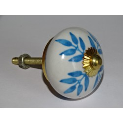 Sky blue drawer knobs or door