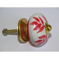 Red fern drawer or door knobs