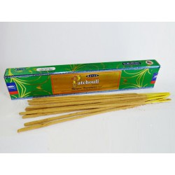 Patchouli incense stick in box of 15 grams