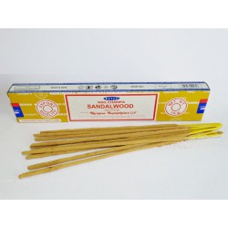 Sandalwood incense stick in box of 15 grams