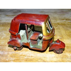 Auto Rickshaw brown patina (articulated wheels)
