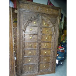 Large and old cupboard or house door 137x237 cm