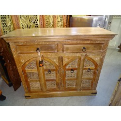 Small sideboard with 2 alcove doors and 2 drawers