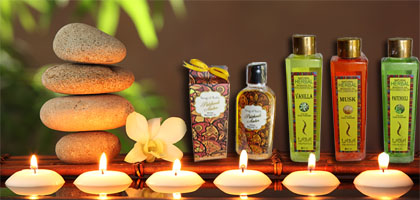Indian massage oils