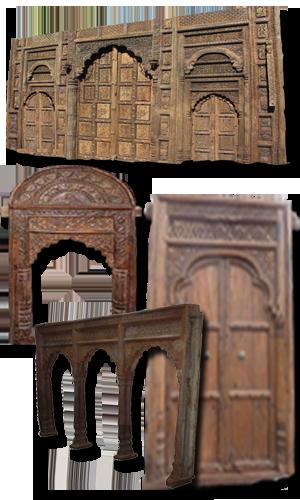 Archs, doors, pillars ...